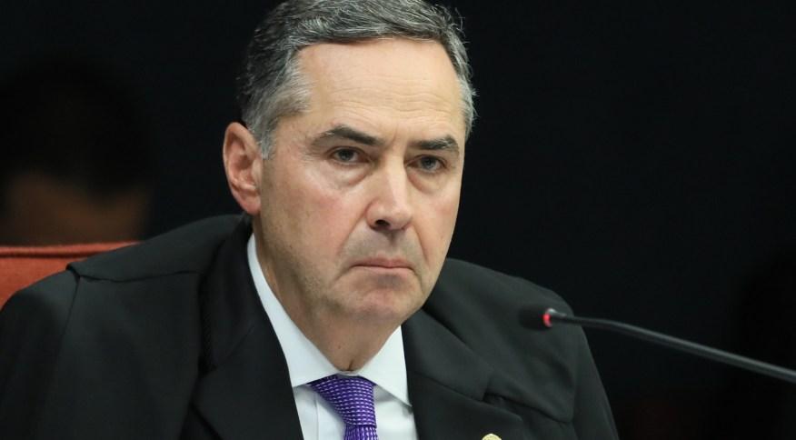 O ministro Luis Roberto Barroso, do Supremo Tribunal Federal, durante sessão de julgamento