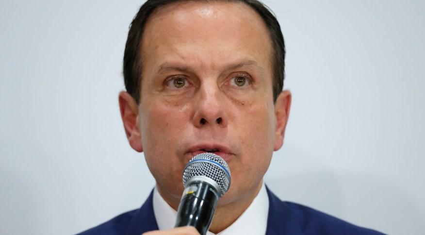 O governador de São Paulo, João Doria (PSDB) (13.mar.2020)