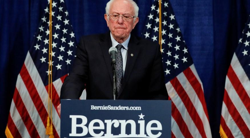 O pré-candidato democrata à Presidência dos EUA, Bernie Sanders