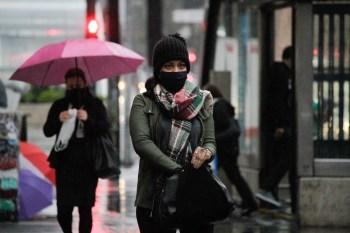 Fortes chuvas foram registradas durante a madrugada desta segunda-feira (18)