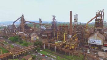 Devido à pandemia, no início de abril, a siderúrgica havia anunciado uma parada temporária de altos-fornos
