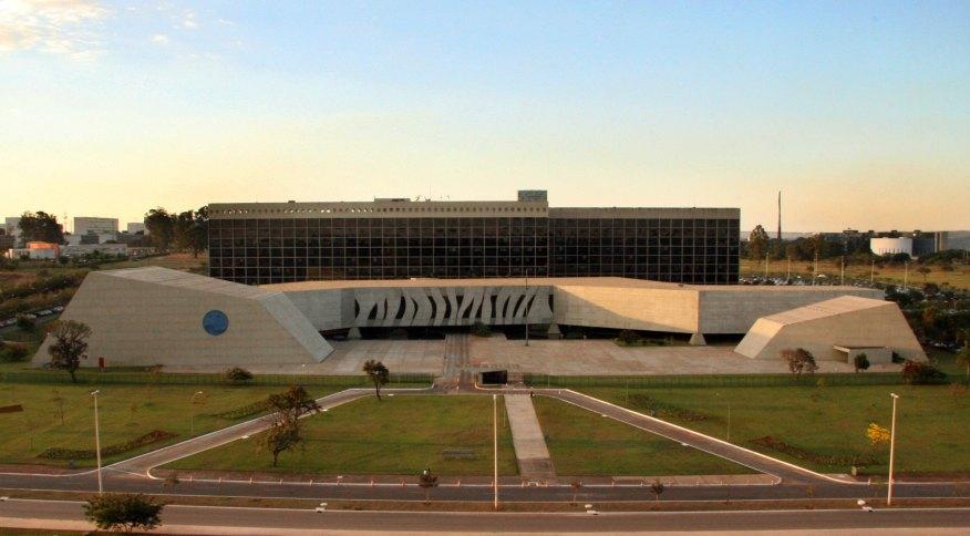 Prédio do Superior Tribunal de Justiça, em Brasília