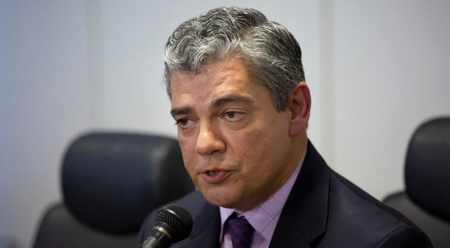 17.jan.2019 - Secretário Especial de Comércio Exterior e Assuntos Internacionais do Ministério da Economia, Marcos Troyjo, em entrevista
