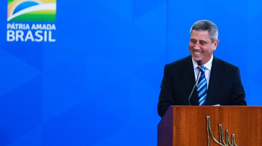 O ministro da Casa Civil, Walter Braga Netto, descartou que o teto de gastos será prejudicado pelo Pró-Brasil (18.fev.2020)