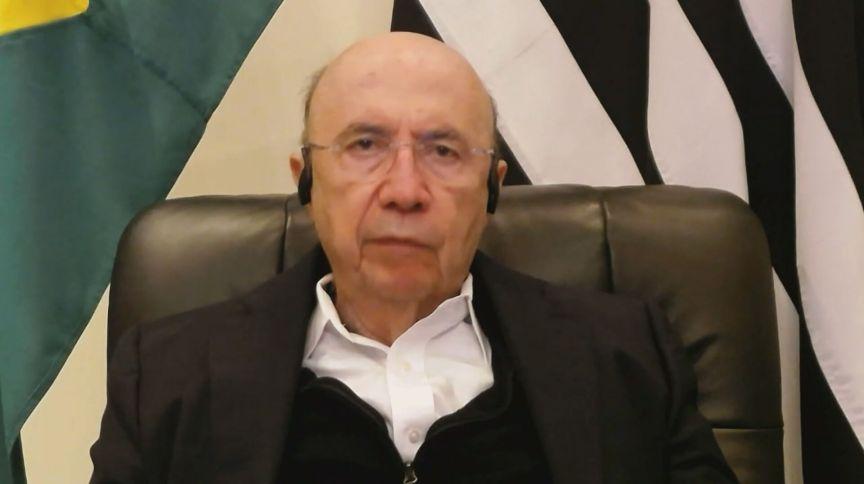 Henrique Meirelles, secretário da Fazenda e Planejamento do Estado de São Paulo em entrevista para a CNN (26.ago.2020)