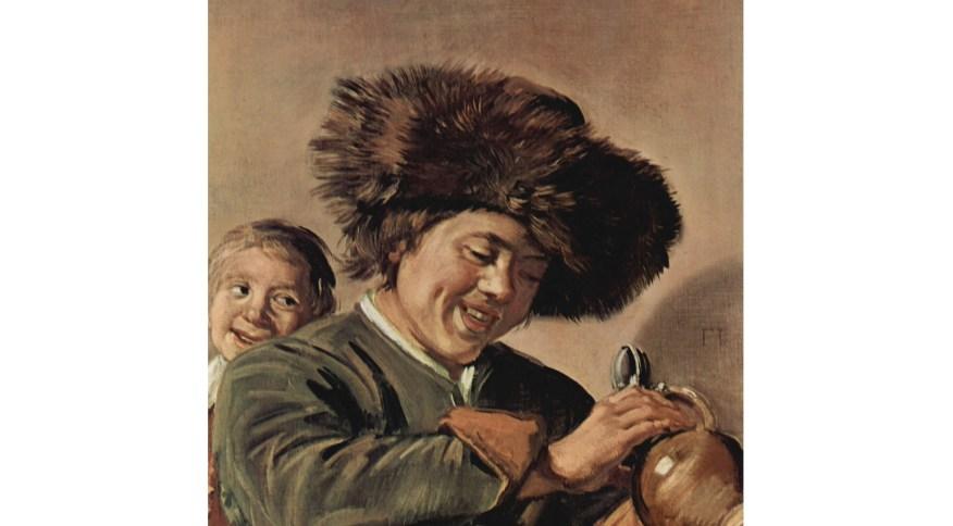 O quadro Two Laughing Boys, do pintor Frans Hals