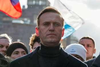 """Navalny ironizou a alteração: """"As notícias são boas. As palavras 'extremista' e 'terrorista' não são tão tediosas"""", diz um texto em seu Instagram"""