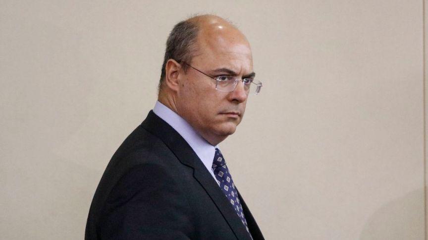 O governador afastado do Rio de Janeiro, Wilson Witzel