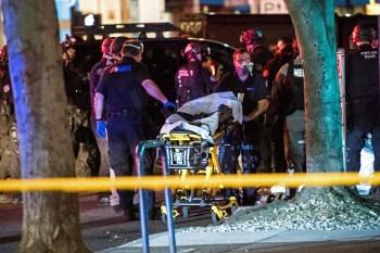 Na noite de sábado, um homem foi baleado no peito e morreu; ainda não há informações sobre suspeitos nos EUA