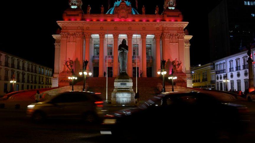 Palácio Tiradentes, sede da Assembleia Legislativa do Estado do Rio de Janeiro (Alerj)