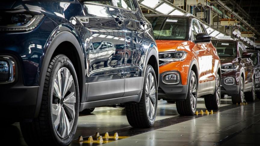 As quatro unidaddes da Volkswagen em São Paulo e no Paraná empregam cerca de 15 mil funcionários