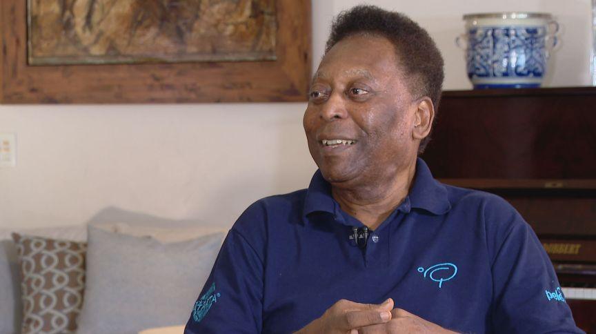 Pelé em entrevista para o Realidade CNN