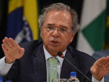 Ministro da Economia reagiu a suposta crítica de Marinho em reunião com economistas de bancos de São Paulo