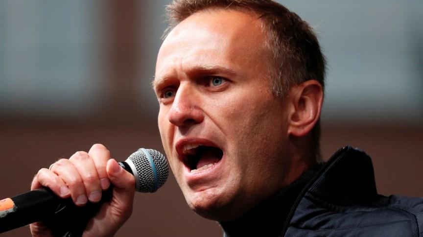 O líder opositor russo Alexei Navalny