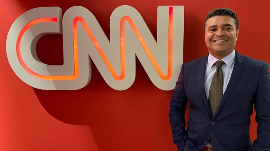 Roberto Nonato é o novo âncora da CNN