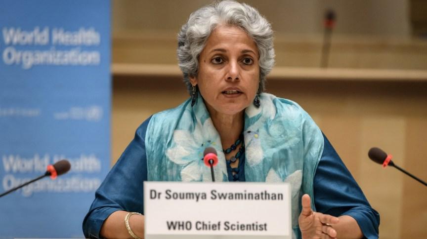 A cientista-chefe da Organização Mundial da Saúde (OMS), Soumya Swaminathan, disse que organização só aprovará vacina com segurança e eficácia comprovadas