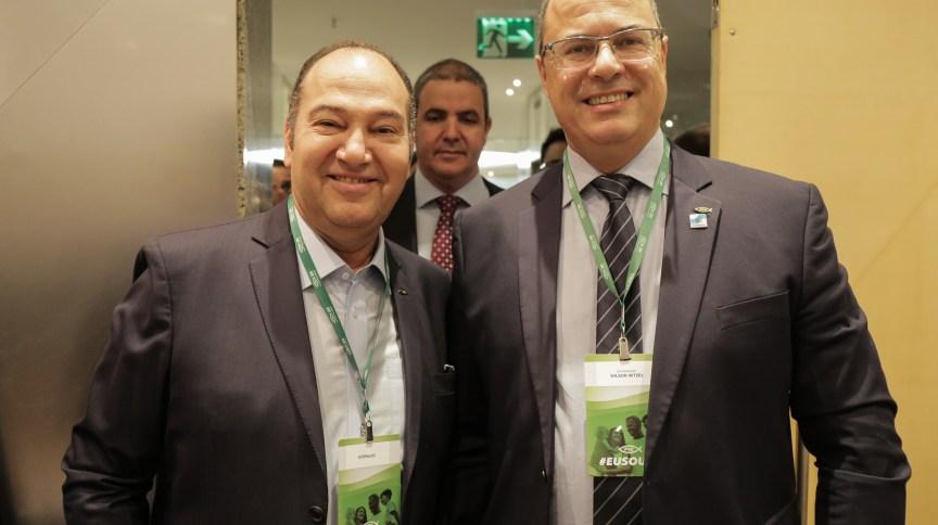 Pastor Everaldo e Wilson Witzel