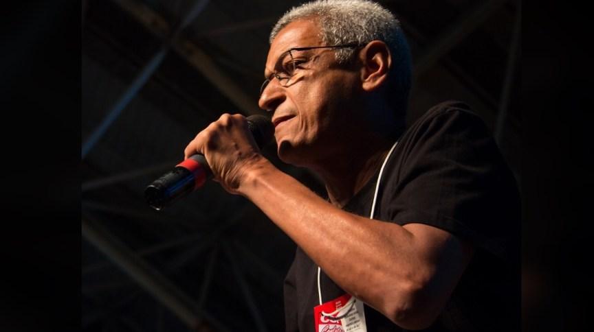 O candidato à prefeitura do Rio de Janeiro pelo PSTU, Cyro Garcia