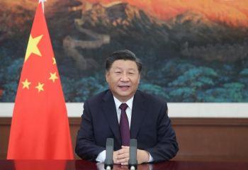 """Xi disse que o panorama econômico global continua incerto e que as emergências de saúde pública """"podem muito bem se repetir"""" no futuro"""