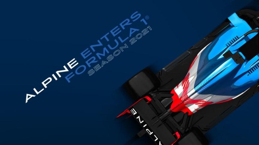 A equipe Renault trocará de nome para Alpine F1 em 2021 e adotará esquema de cores da bandeira francesa