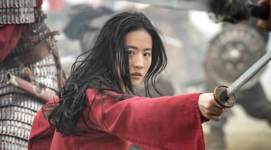 Cena do live-action de 'Mulan'