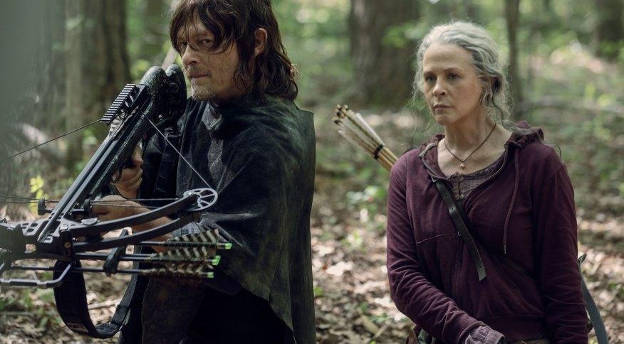Norman Reedus e Melissa McBride, o Daryl e a Carol em The Walking Dead, estrelarão spin-off no universo de zumbis