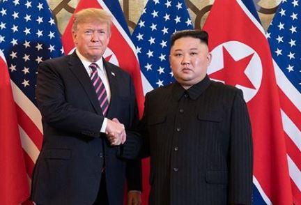 Encontro entre Donald Trump e Kim Jong Un