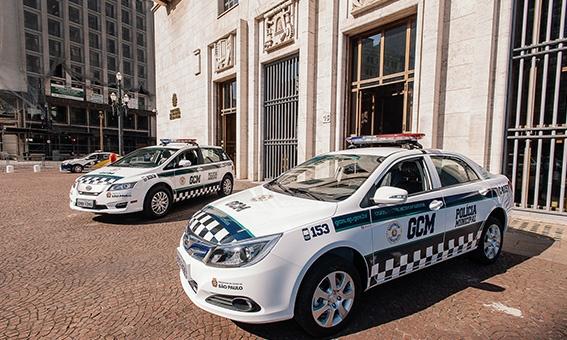 Veículos da Guarda Civil Metropolitana (GCM) de São Paulo