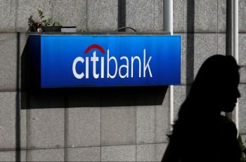 A receita do Citi caiu 10%, principalmente devido a um declínio no banco de varejo