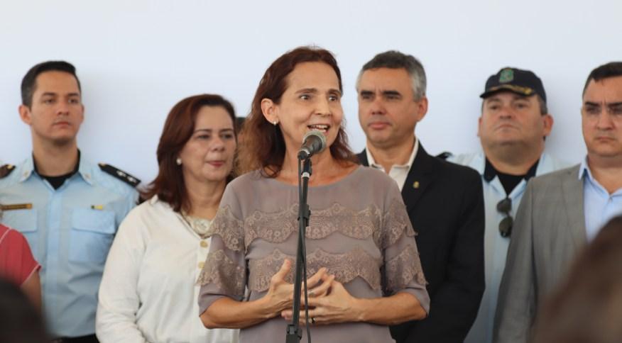 Vice-governadora do Ceará, Izolda Cela (14.nov.2018)