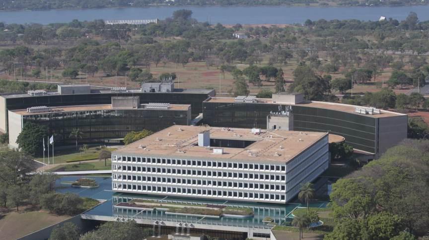 Prédio do Tribunal de Contas da União (TCU)
