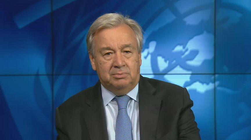 António Guterres, Secretário Geral da ONU (10.set.2020)
