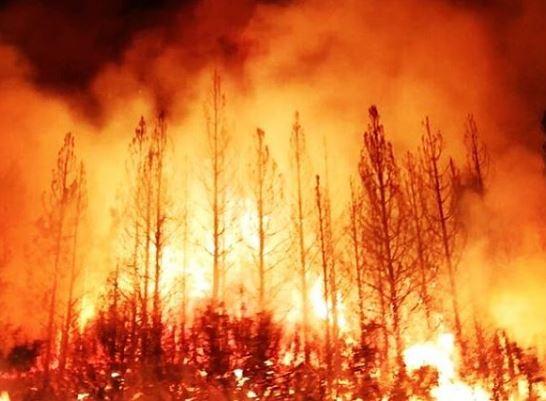 Incêndios florestais forçam evacuação no Oregon
