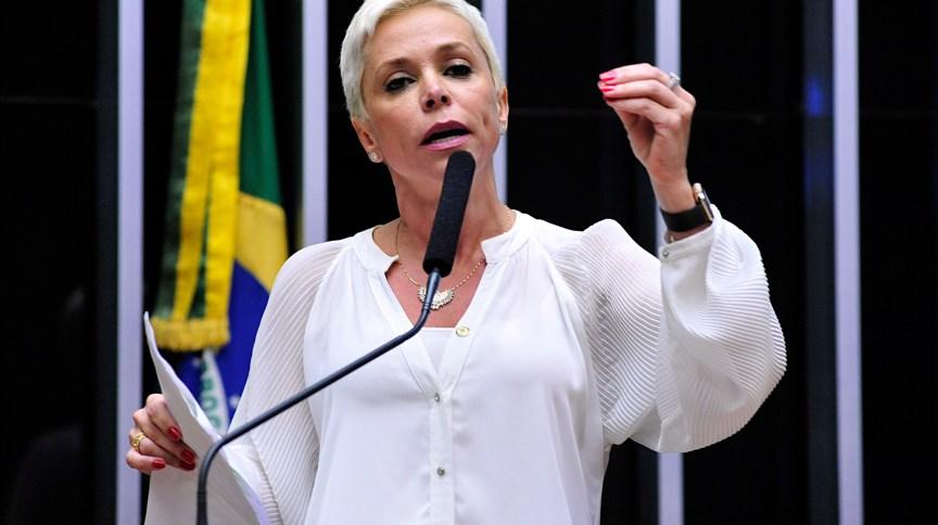 A ex-deputada federal Cristiane Brasil