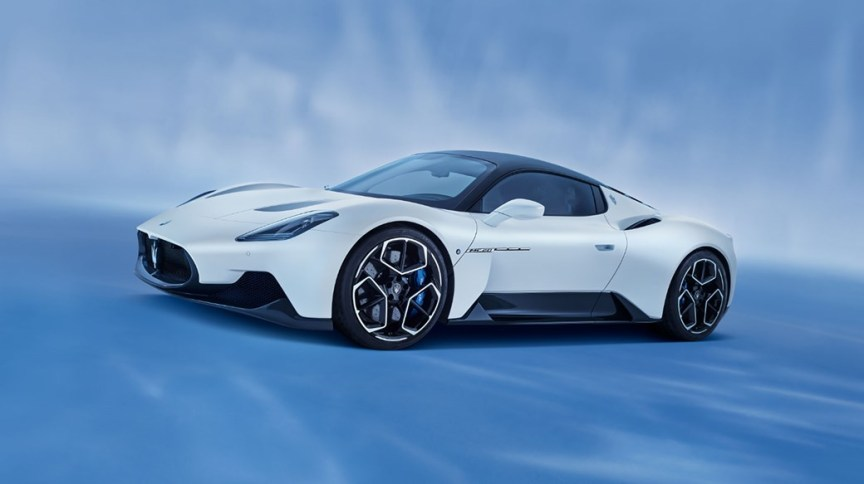 Maserati MC20: A aerodinâmica do carro foi testada em um túnel de vento na fábrica italiana de carros de corrida Dallara