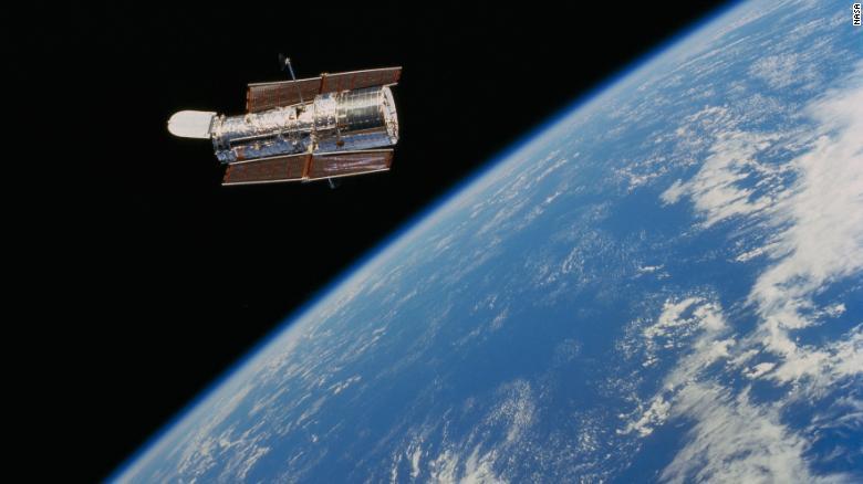 O telescópio Hubble