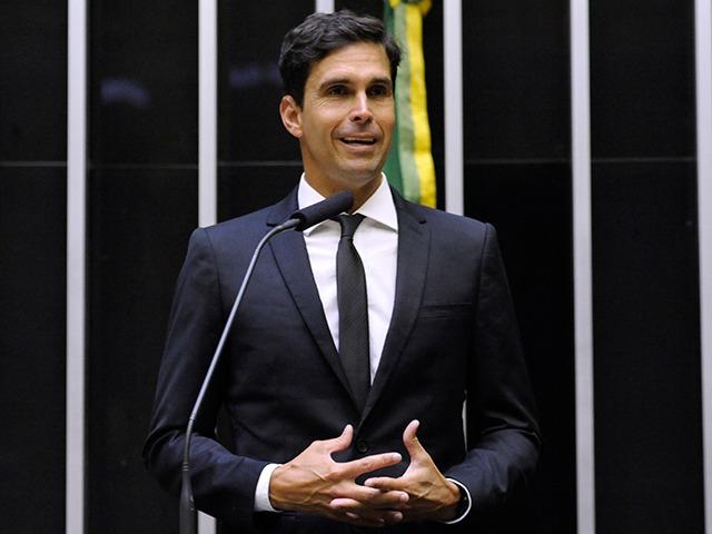 O deputado federal Luiz Lima, candidato do PSL a prefeito do Rio de Janeiro