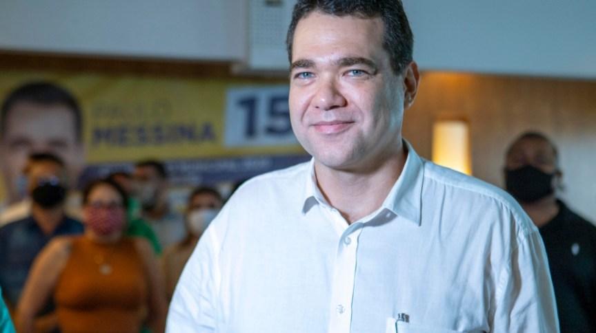 O candidato do MDB à prefeitura do Rio, Paulo Messina
