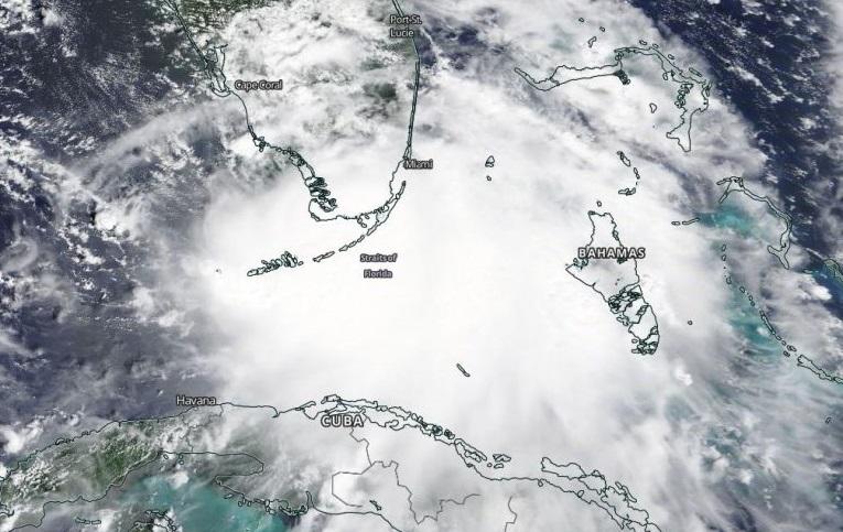 Passagem do furacão Sally entre sul da Flórida, nos EUA, e Cuba