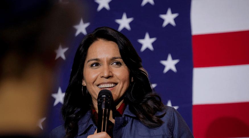 A congressista do Havaí e pré-candidata democrata à presidência dos Estados Unidos, Tulsi Gabbard