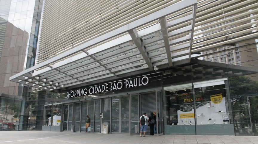 Shopping Cidade São Paulo, na Avenida Paulista, fechado em março