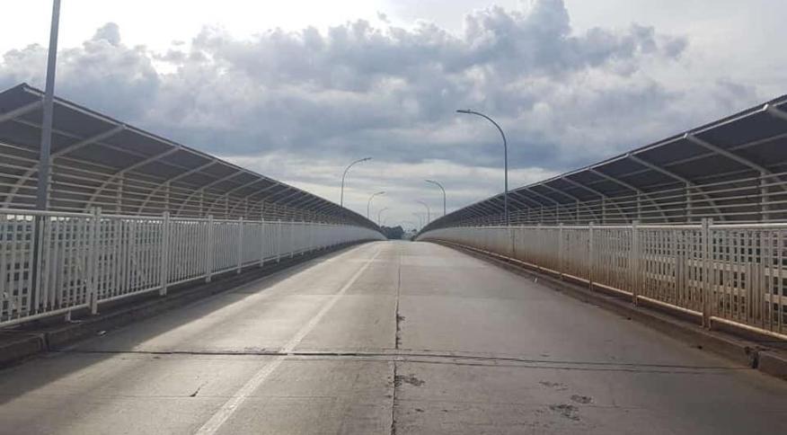 Ponte da Amizade, na fronteira entre Foz do Iguaçu e Ciudad del Este