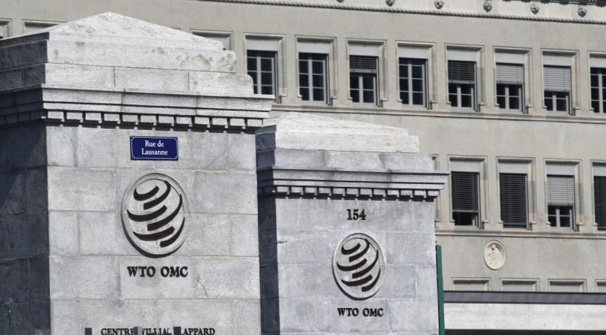 A sede da Organização Mundial do Comércio (OMC), em Genebra