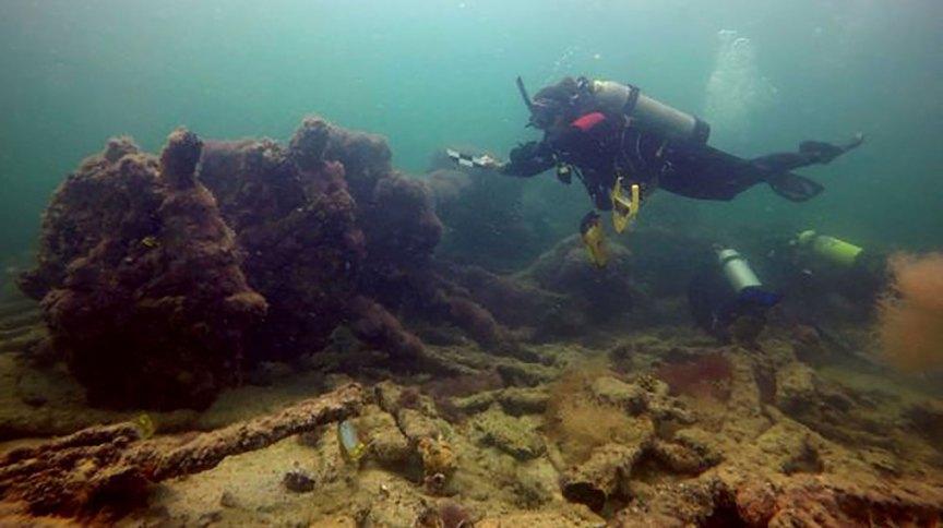 Navio foi encontrado em 2017, mas confirmação de que transportava maias só aconteceu em 2020.