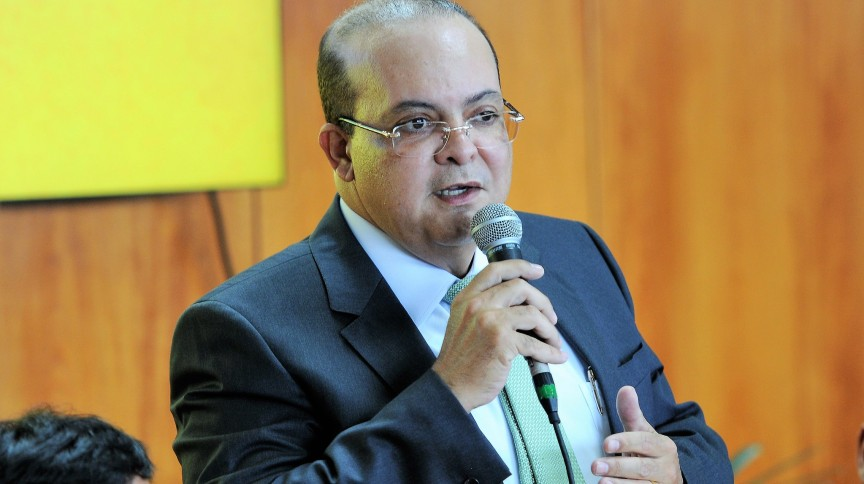 O governador do Distrito Federal, Ibaneis Rocha (MDB)