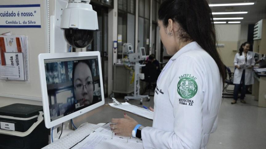 Iniciativa de telemedicina do Hospital Geral de Palmas, em Tocantins, em parceria com o hospital Albert Einstein