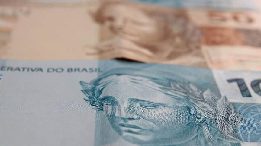 Cédulas de R$ 100 e R$ 50