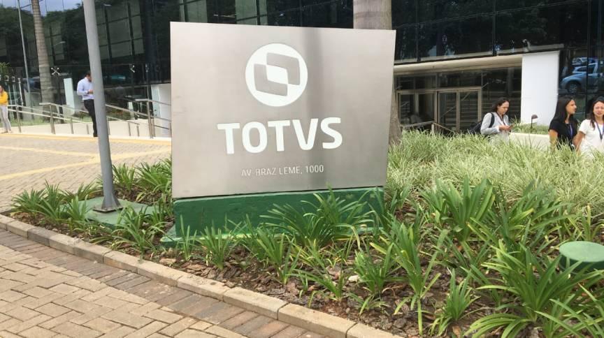 Fachada da sede da Totvs: Empresa tenta chegar a um acordo para a compra da operação da Linx