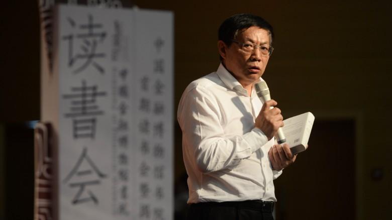 Ren Zhiqiang, um ex-magnata do mercado imobiliário e crítico aberto do governo chinês.