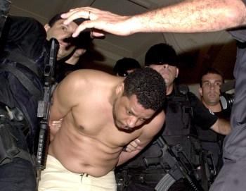 O traficante foi preso em 19 de setembro de 2002 após caçada de três meses da polícia.